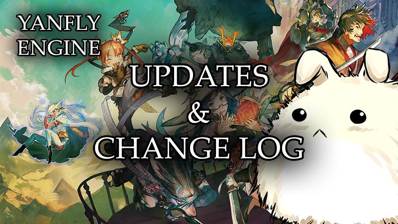 ~updates and changelog