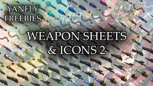 Freebie - Weapon Icons 2