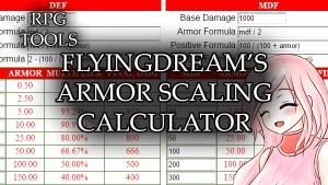 FD Armor Scaling Calculator