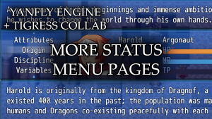 YEP.140 - More Status Menu Pages