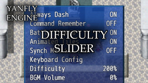 YEP.147 - Difficulty Slider