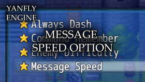 YEP.166 - Message Speed Option