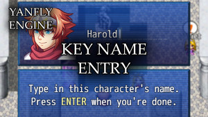 YEP.185 - Key Name Entry
